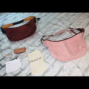 Set of 2 Coach Small Hobo Bags